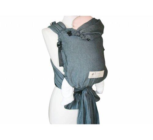 Storchenwiege Storchenwiege Carrier Graphite Grey ergonomic baby carrier