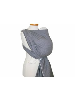 Storchenwiege Woven wrap Storchenwiege Leo black-white