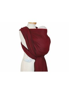 Storchenwiege Woven wrap Storchenwiege Leo Bordeaux
