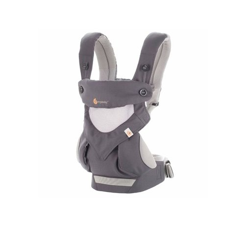 Ergobaby Erobaby draagzak 4P 360 Cool Air Carbon Grey