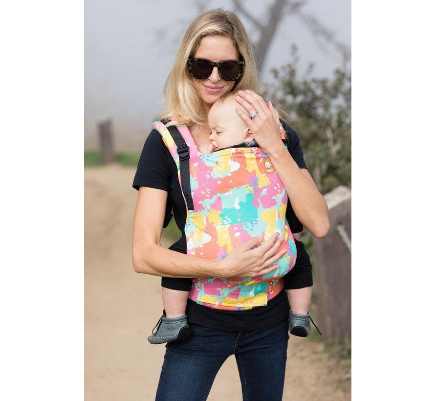 Tula Free to Grow Paint Palette babycarrier.