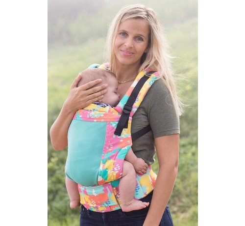 Tula Tula Free to Grow Coast Paint babycarrier.