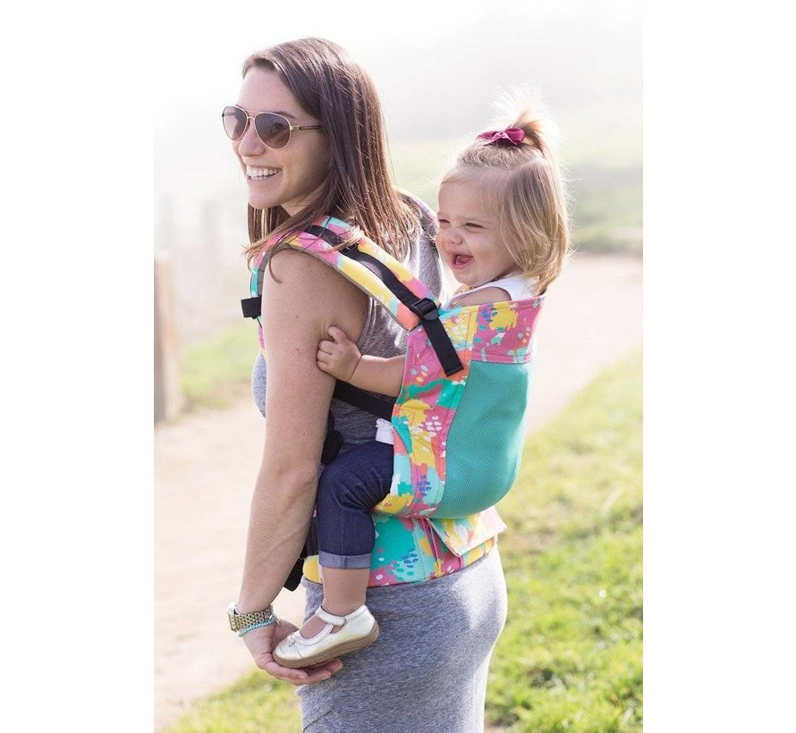 Tula Free to Grow Coast Paint babycarrier.