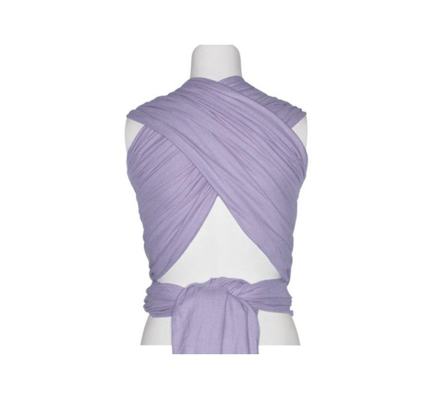 Pure Baby Love geweven draagdoek in de kleur Purple paars.