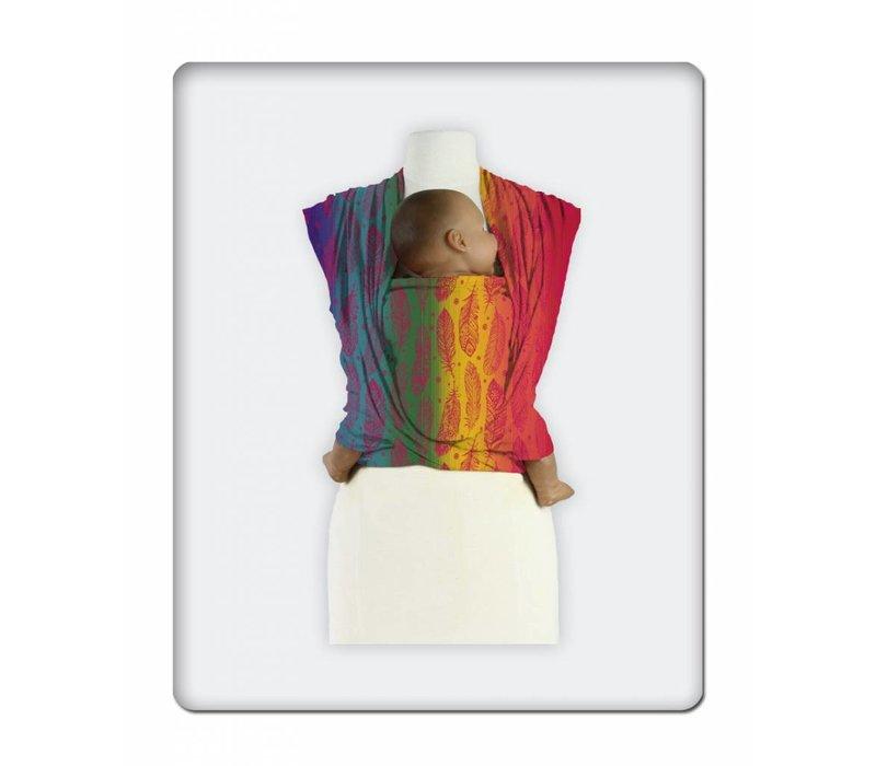 Mam Baby Wrap Feather Rainbow Cherries