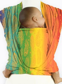 Mam Baby Wrap Mam Baby Wrap Feather Rainbow Orangino