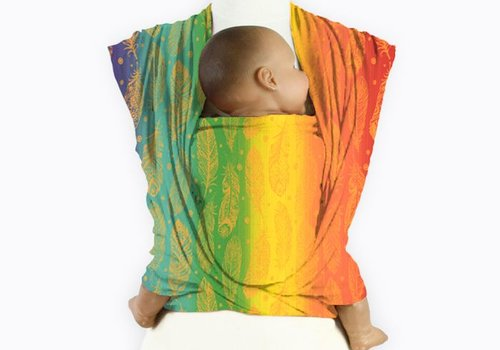 Mam Baby Wrap Mam Baby Wrap Feather Rainbow Orangino