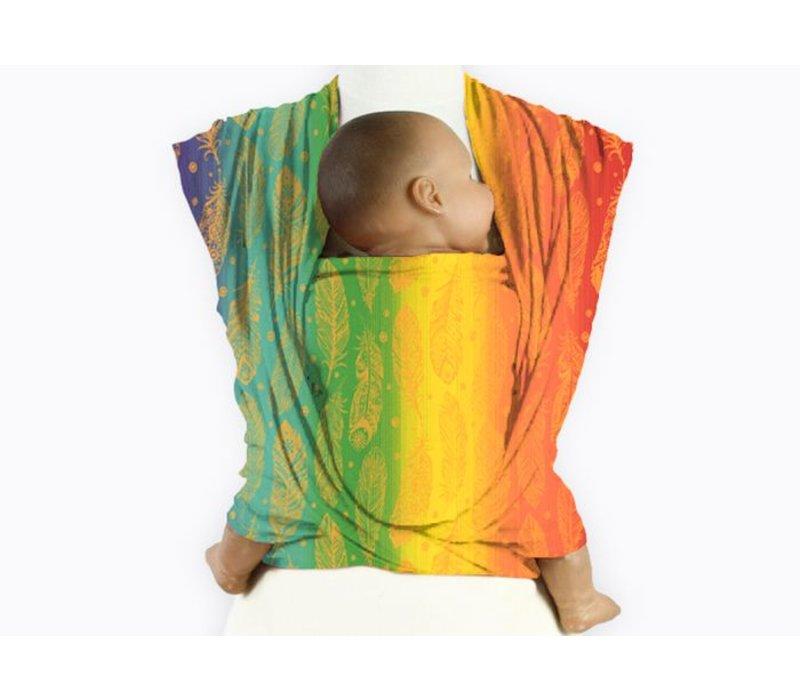 Mam Baby Wrap Feather Rainbow Orangino