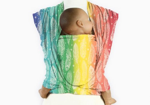 Mam Baby Wrap Mam Baby Wrap Feather Rainbow Cream