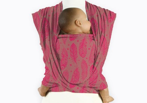 Mam Baby Wrap Mam Baby Wrap Feather Virtual Pink