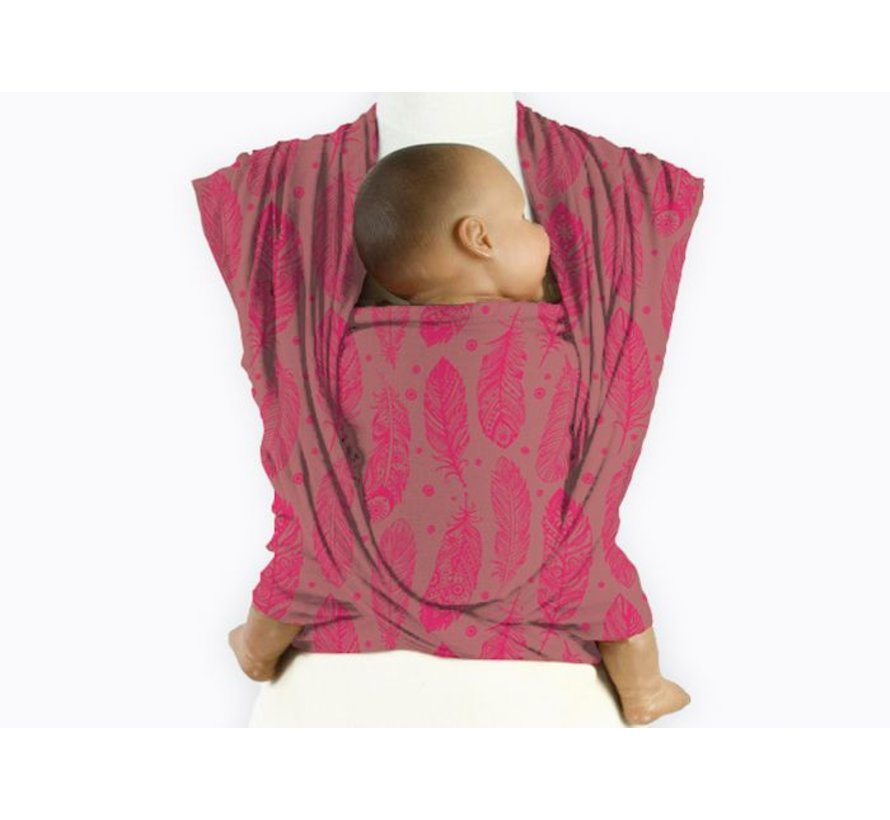 Mam Baby Wrap Feather Virtual Pink