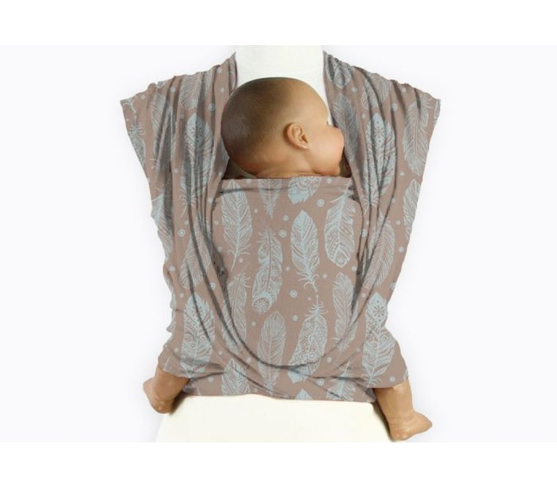 Mam Baby Wrap Feather Cloud Blue