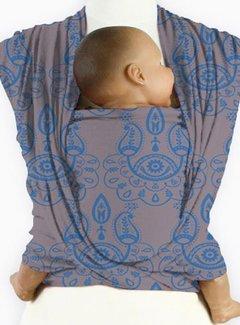 Mam Baby Wrap Mam Baby Wrap Paisley Mediterranean Blue
