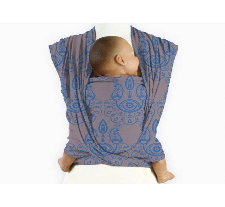Mam Baby Wrap Paisley Mediterranean Blue