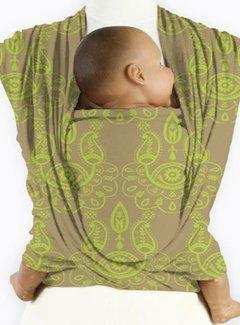 Mam Baby Wrap Mam baby wrap Paisley Lime Green