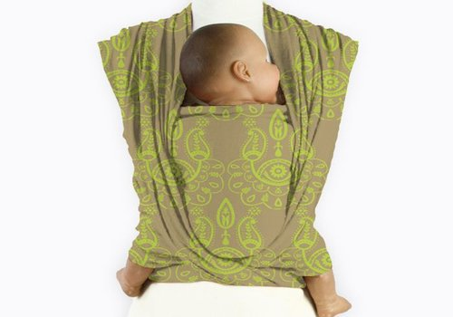 Mam Baby Wrap Mam baby wrap Paisley Lime Green