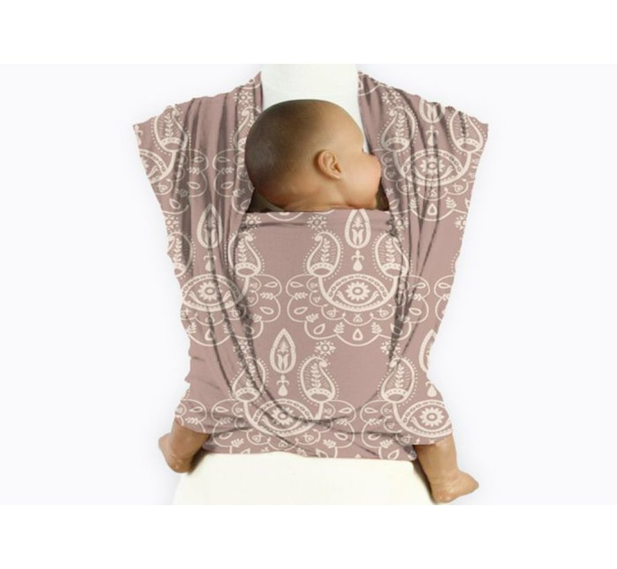 Mam baby wrap Paisley Milk Coffee
