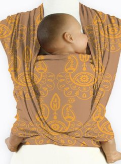 Mam Baby Wrap Mam baby wrap Paisley selective yellow
