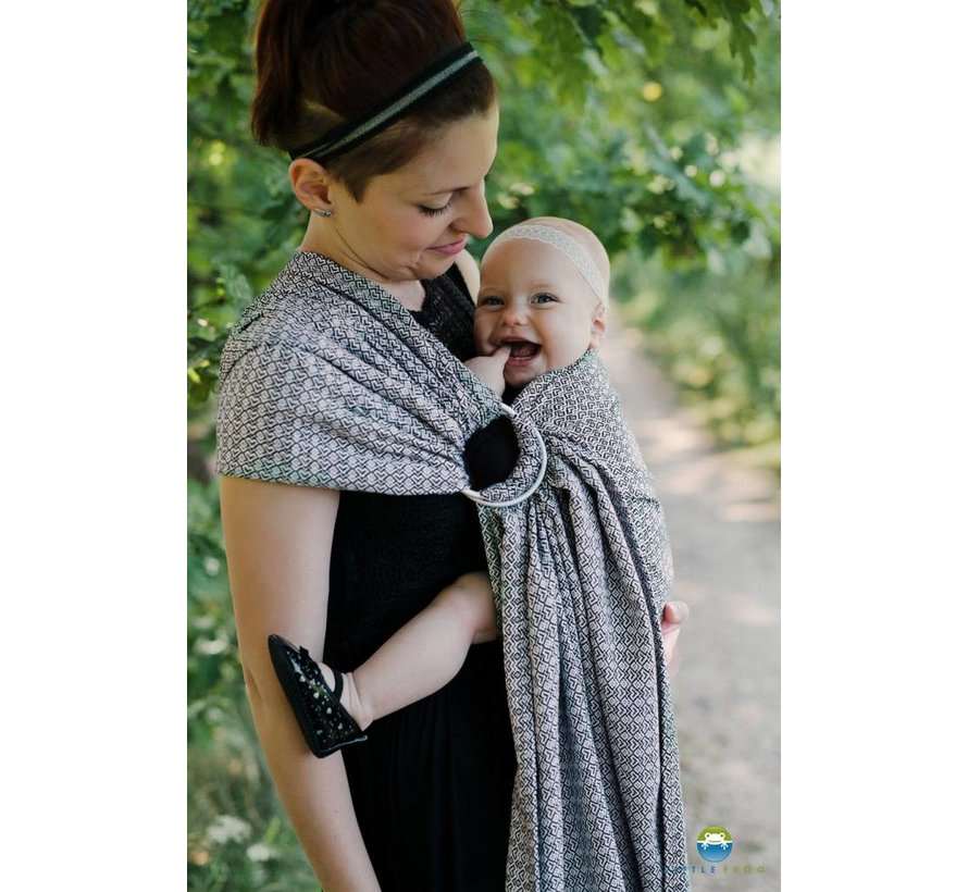 Little frog Lovely Slate ringsling