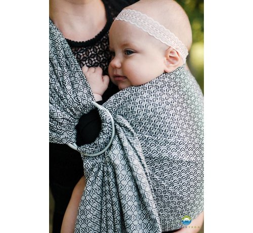 Little Frog Little frog Lovely Slate ringsling