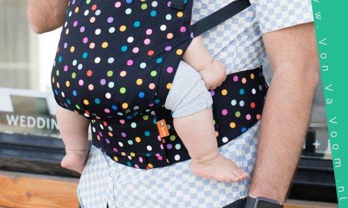 Waarom er geen enkele draagzak geschikt is vanaf de geboorte tot ver in de peutertijd.