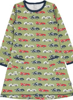 Maxomorra Maxomorra Dress LS RACE CAR