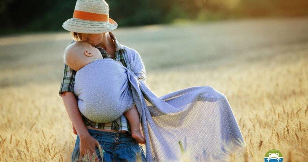 Vanaf wanneer kan ik mijn kindje dragen in een draagdoek?