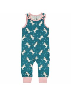Maxomorra Maxomorra Playsuit UNICORN DREAMS