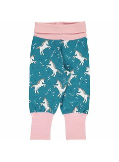 Maxomorra Maxomorra Pants Rib UNICORN DREAMS