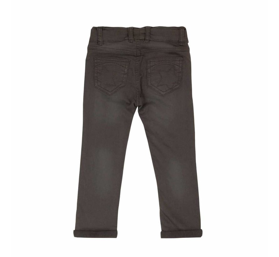 Villervalla SWEAT SLIM PANTS   STORM