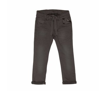 Villervalla Villervalla SWEAT SLIM PANTS   STORM