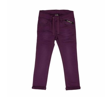 Villervalla Villervalla SWEAT SLIM PANTS   GRAPE