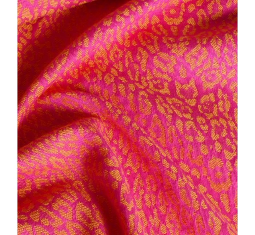 Didymos Leopard pink