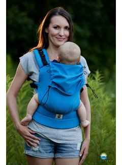 Little Frog Little Frog carrier Turquoise Herringbone