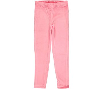 Maxomorra Maxomorra Leggings Velour ROSE PINK