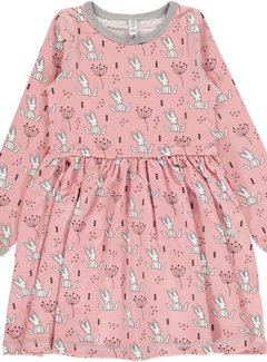 Maxomorra Maxomorra Dress Spin LS SWEET BUNNY