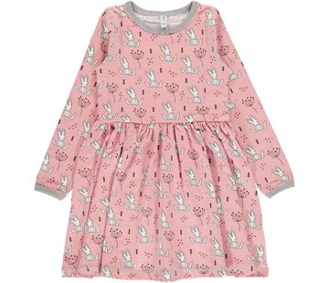 Maxomorra Maxomorra Dress Spin LS SWEET BUNNY