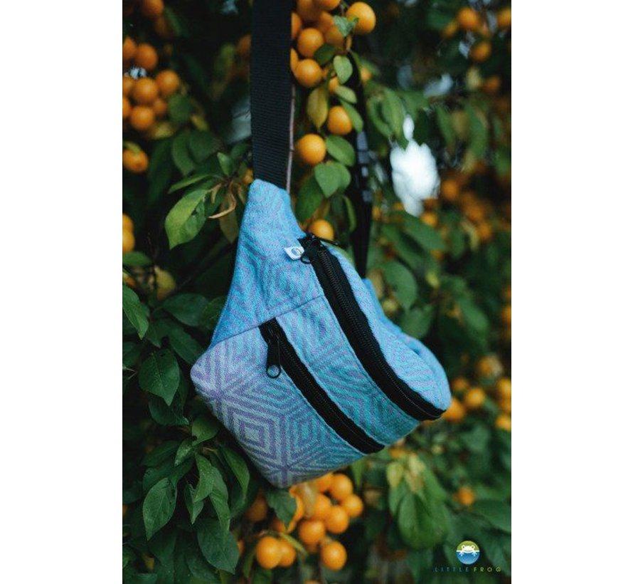 Little Frog waist bag blueberry  cube
