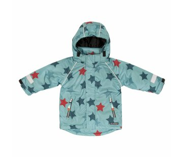 Villervalla Villervalla WINTER JACKET  STAR PRINT   BAY