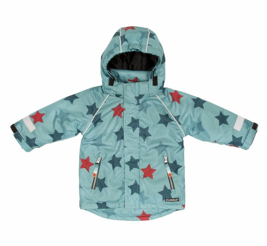 Villervalla WINTER JACKET  STAR PRINT   BAY