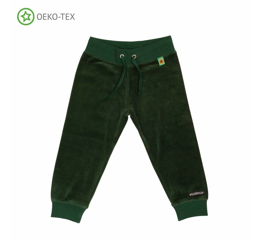 Villervalla RELAXED TROUSERS   DRK PINE