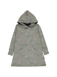 Maxomorra Maxomorra Dress Hoodie Sweat KITTY CAT