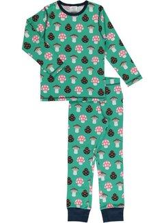 Maxomorra Maxomorra Pyjama Set LS MUSHROOM