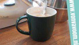 Dragen tijdens het koken, strijken of thee drinken?