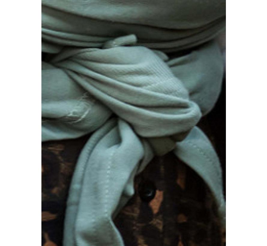Bykay stretchy wrap deluxe Minty grey