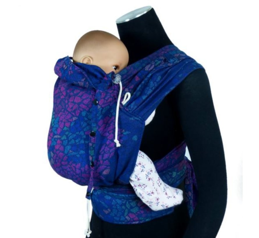 Didymos DidyKlick Mosaic Sparks in the Dark babytrage
