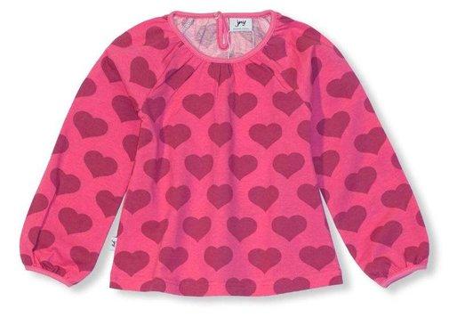 JNY JNY PUFFY SHIRT l/s HEART