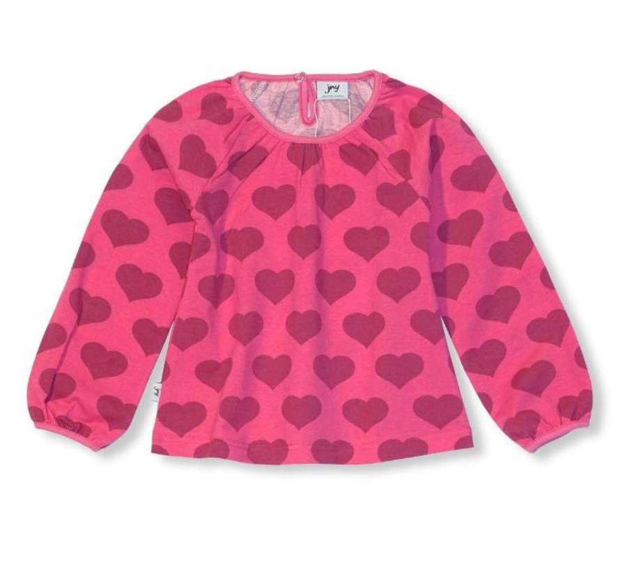 JNY PUFFY SHIRT l/s HEART