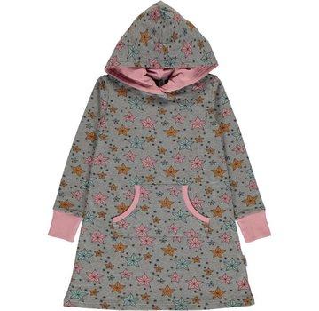 Maxomorra Maxomorra Dress Hoodie Sweat NIGHT SPARKLE