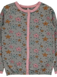 Maxomorra Maxomorra Cardigan Button Sweat NIGHT SPARKLE